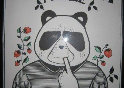 Serie: «Vote panda»  Mariana Agorrody (2007)