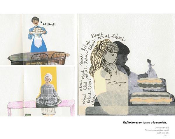 Jesika Martinez - Reflexiones entorno a la comida, 2011 PORTADA
