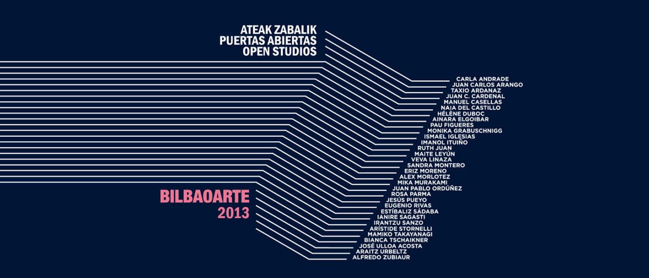 Portada Catálogo Bilbaoarte 2013 sin mascara