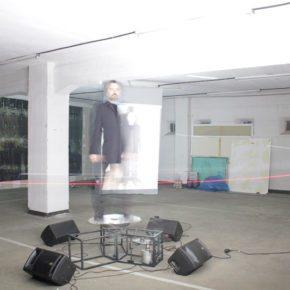 AURREZ AURRE Acción e instalación de  Alberto Lomas