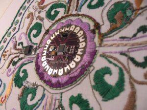 LIlypad Embroidery Bekathwia