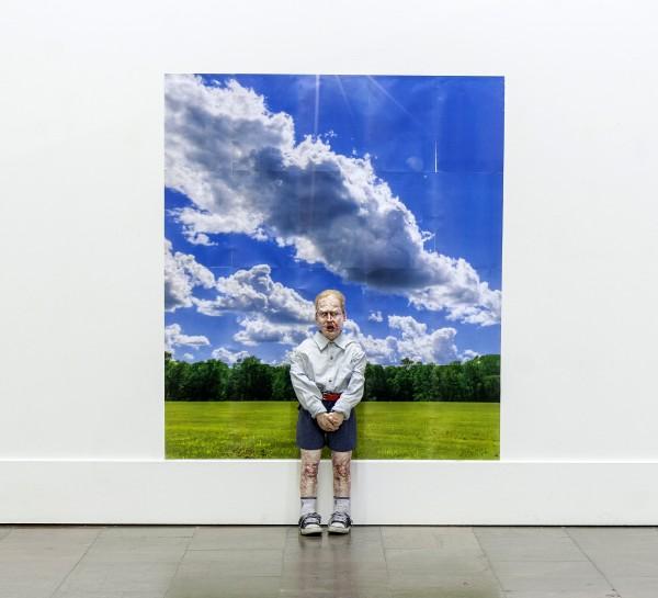 DanielJordán__Yo como niño negro albino__(obra secundaria 2)_2014