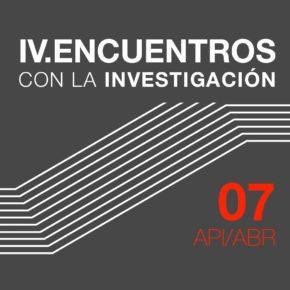IV. Encuentros con la investigación  MARÍA GOIRICELAYA e IGOR REZOLA