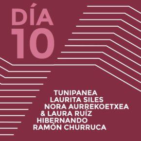 ENCUENTROS CON LOS ARTISTAS 2015Tunipanea (Jonathan García)Laurita SilesNora Aurrekoetxea & Laura RuízHibernando (Pablo Escauriaza & Sol Benavente)Ramón Churruca
