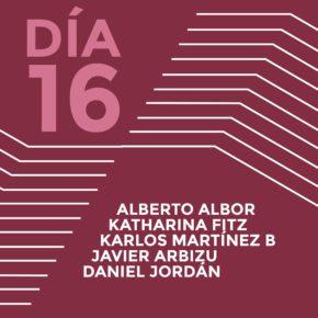 ENCUENTROS CON LOS ARTISTAS 2015Alberto AlborKatharina FitzKarlos Martínez B.Javier ArbizuDaniel Jordán