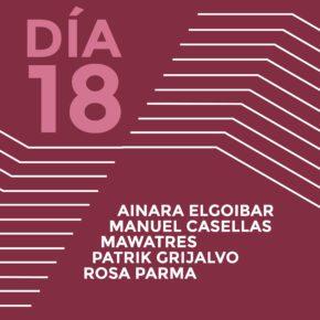 ENCUENTROS CON LOS ARTISTAS 2015Ainara ElgoibarManuel CasellasMawatresPatrik GrijalvoRosa Parma