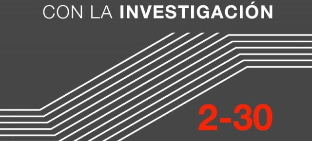 V. ENCUENTROS CON LA INVES-TIGACIÓN