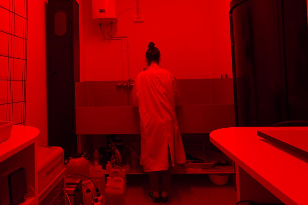 Galer a bilbaoarte for Cuarto oscuro rayos x