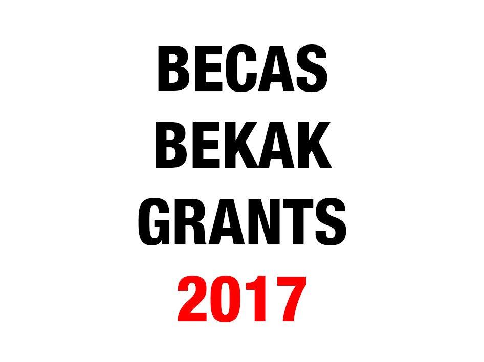 becas-bekak-grants-2017