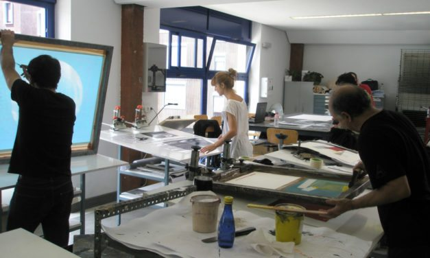 Silk-screen printing introduction workshop III