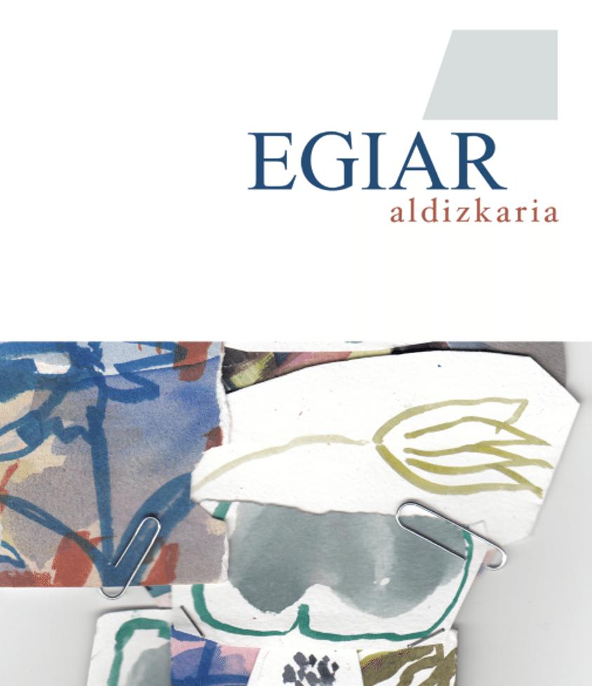 Portada Revista EGIAR Adizkaria 0