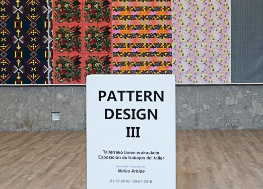 """PATTERN DESIGN III"". Group exhibition."