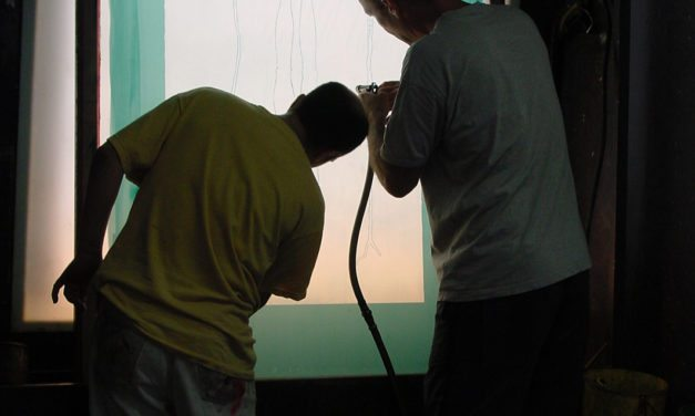 Introduction course to silk-screen printing