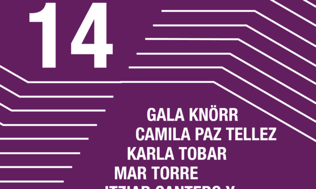 Meetings with the artists <br> Gala Knörr <br> Camila Paz Tellez <br> Karla Tobar <br> Mar Torre <br> Itziar Cantero y Naroa Gallego <br>Sahatsa Jauregi