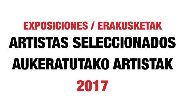 EXPOSICIONES INDIVIDUALES 2017