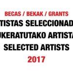 Seleccionados BECAS 2017