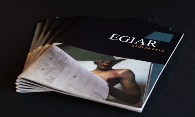 «La experiencia editorial» <br>Encounter with EGIAR Aldizkaria