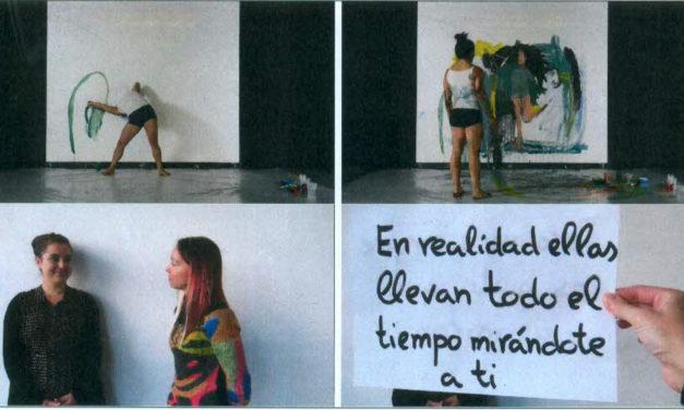 El cuerpo de la artista / Jugando con Tamara <br> Tamara García Jiménez (2016)