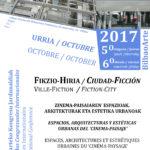 Jornadas congresuales internacionales <br>«CIUDAD-FICCIÓN. Espacios, arquitecturas y estéticas urbanas <br>del 'Cinema-Paisaje'»