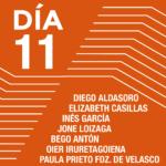 Encuentros con los artistas <br>Diego Aldasoro <br>Elizabeth Casillas <br>Inés García <br>Jone Loizaga <br>Bego Antón <br>Paula Prieto Fdz. De Velasco <br>Oier iruretagoiena