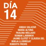 Encuentros con los artistas<br>Amaia Salazar <br>María Altuna <br>Paulina Mellado <br>Roman Ljubimov <br>Jaume Clotet y Claudia del Barrio <br>Borja Llobregat <br>Roberto Freire