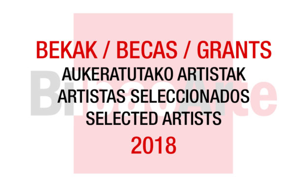 Selected artists 2018