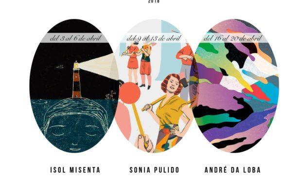 LOS CURSOS BONITOS DE 2018 <br>Seminarios y charlas de ilustración <br>En colaboración con Bonito Editorial