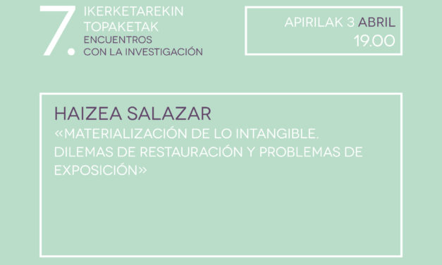 VII. Encounters with research: <br>Haizea Salazar