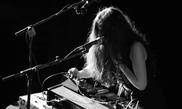 Ainara LeGardon's Sound Performance. <br>Collaboration with BLV-Art