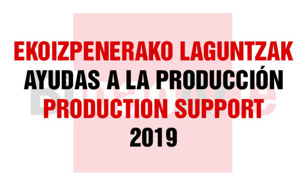 Selected artists list Production Support Aids BilbaoArte 2019 (2nd Call)
