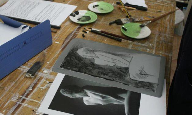 Curso: «Litografía sobre plancha de aluminio» <br>con Fátima Conesa