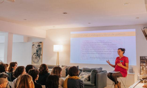 Conferencias sobre Pattern Design: «Pattern Design: el mercado de los originales hoy» + «Project Paras: la revolución de adobe para el diseño de estampación textil» de la mano de Ana Santonja Querol
