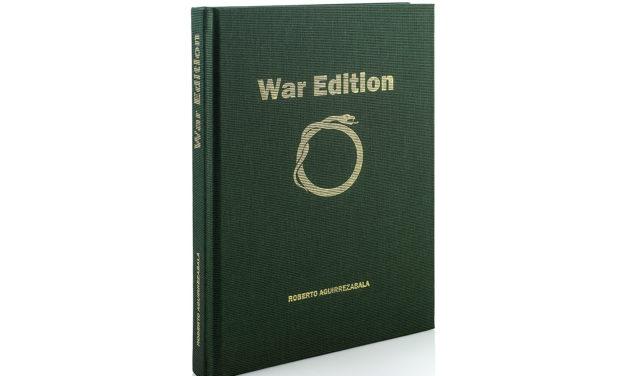 «War  Edition»  liburuaren  aurkezpena,  Roberto  Aguirrezabalaren  eskuz