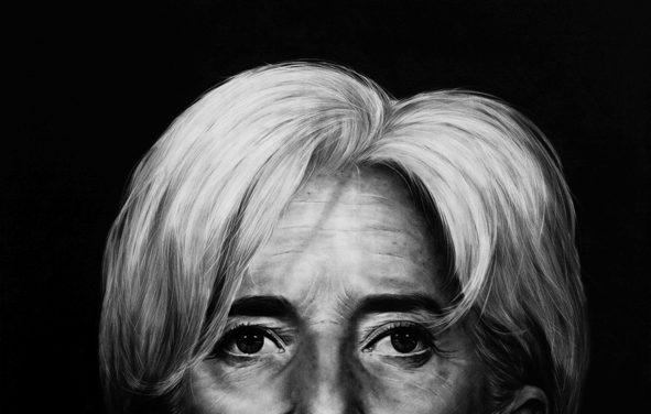 Christine Lagarde <br>Kepa Garraza (2014)