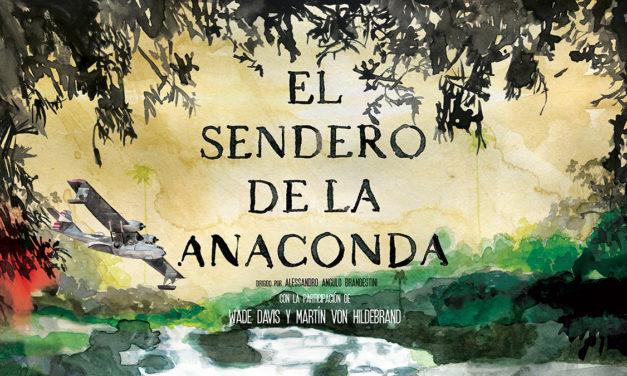 Dokumentalaren  proiekzioa:  «El  sendero  de  la  anaconda»,  Alessandro  Angulo