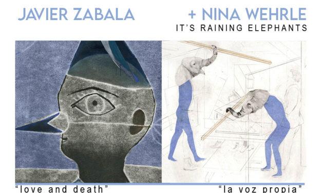 Cursos Bonitos 2020 + Conferencias de ilustración: Nina Wehrle (It's raining elephants) + Javier Zabala. De la mano de Bonito Editorial