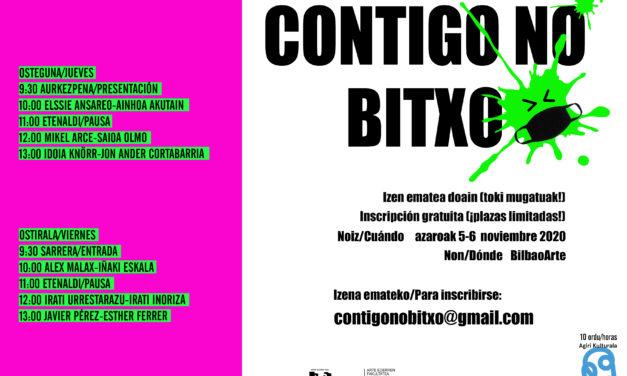 II. Jornadas sobre conservación de arte contemporáneo: «Contigo no bitxo»