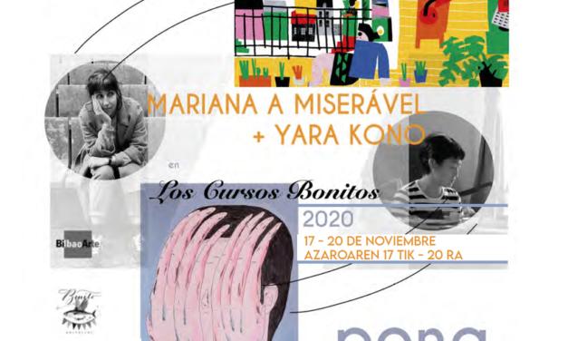 Taller intensivo de ilustración: «PING PONG». Cursos Bonitos 2020 con Yara Kono (Planeta Tangerina) y Mariana a Miseràvel
