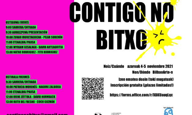 III. Jornadas sobre conservación de arte contemporáneo: «Contigo no bitxo»