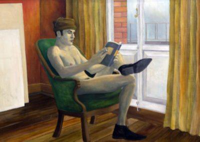 Autorretrato  Nacho Martínez Gorriz (2000)