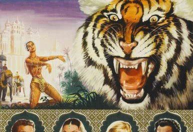 El tigre de Esnapur. Fritz Lang. 19:00