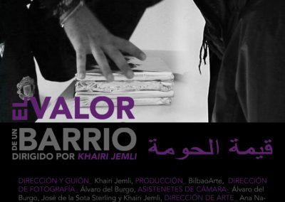 El vaor de un barrio  Khairi Jemli (2016)