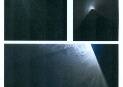Escultura de luz a través de un estimulo  Imanol Zubiauz (2016)
