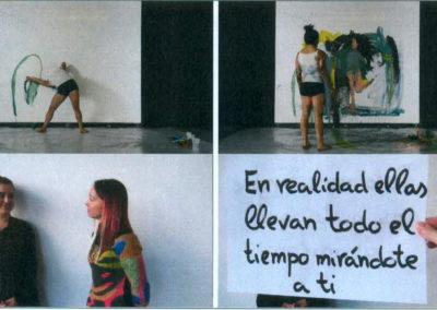 El cuerpo de la artista / Jugando con Tamara  Tamara García Jiménez (2016)