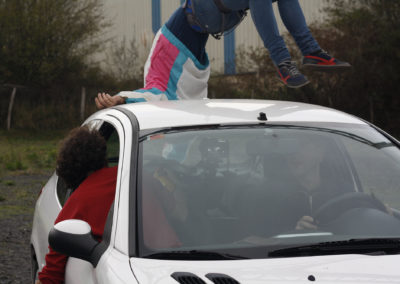 Lo que podría ser una representación de… [automóviles]  Daniel Mera Martínez (2014)