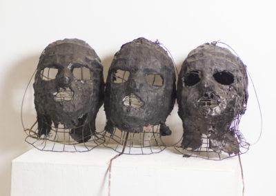 Máscaras del poder/ Máscaras del miedo  Alberto Lomas (2002)