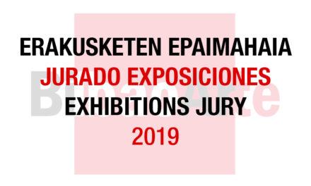 Jurado Exposiciones Individuales 2019