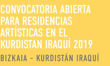 Convocatoria Moving Artists: Residencias artísticas en el Kurdistan Iraquí